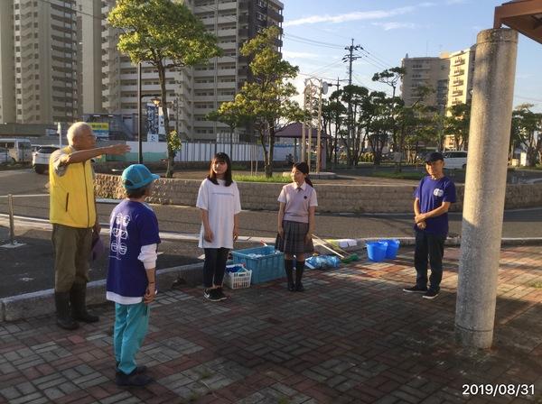 新飯塚駅早朝トイレ磨き