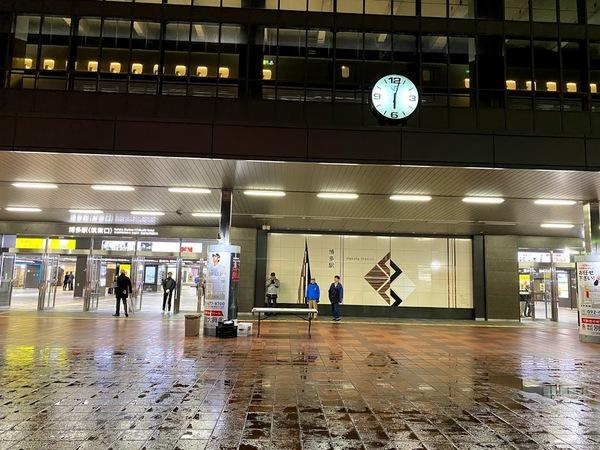 第314回博多駅早朝清掃